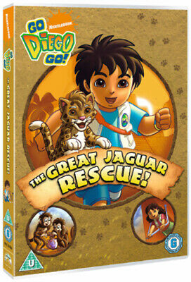 Go Diego Go!: The Great Jaguar Rescue! DVD (2009) Chris Gifford Cert U • 2.45£