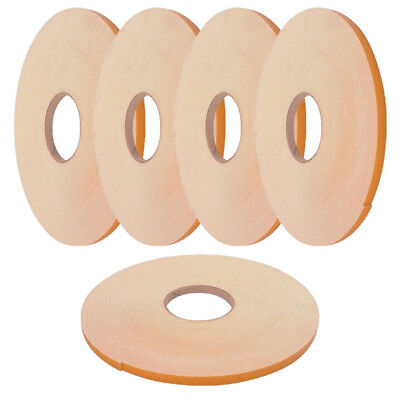 Double Sided Foam Tape - 2mm X 25m White - Glazing / Mounting / Craft Tape X 5 • 29.95£