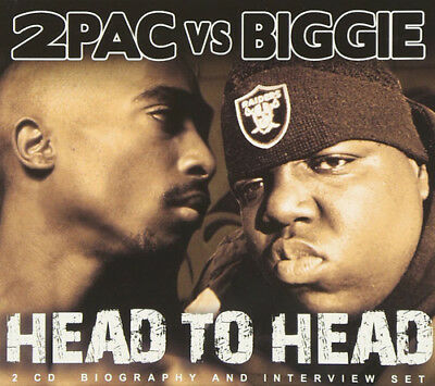 2Pac & Biggie : 2Pac Vs Biggie: Head To Head CD 2 Discs (2014) ***NEW*** • 12.55£