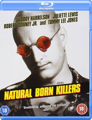 Natural Born Killers Blu-Ray (2008) Woody Harrelson, Stone (DIR) Cert 18 • 4.94£