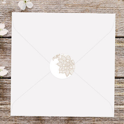 Victorian Lace - Wedding Envelope Seals - Pack Of 70 • 4.50£