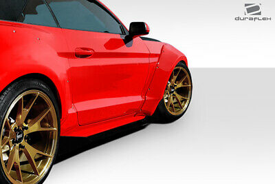 $ CDN862.41 • Buy Duraflex Grid Wide Body Front Fender Flares 4 Piece For Mustang Ford 15-17