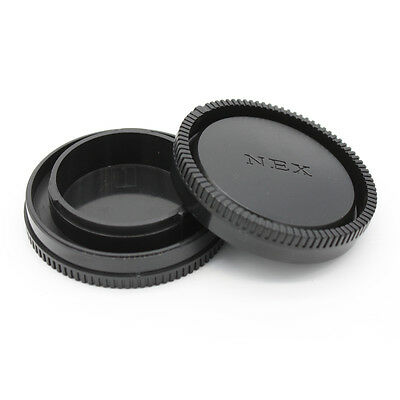 $ CDN5.51 • Buy 2 Sets Rear Lens + Body Cap For Sony E-mount Camera NEX/5/6/7 A6000 A7 A7R A7II
