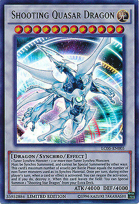 AU4 • Buy Shooting Quasar Dragon Ultra Rare Yugioh Card LC05-EN005