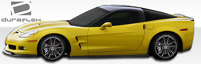 $106 • Buy 05-13 Chevrolet Corvette C6 Duraflex ZR Edition Side Skirts 2pc 105769