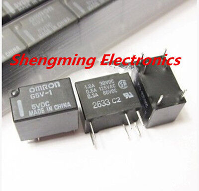 AU12.74 • Buy 10pcs G5V-1-5VDC G5V-1-DC5V Signal Relay 6 Pins