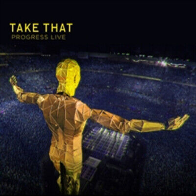 Take That : Progress Live CD 2 Discs (2011) Incredible Value And Free Shipping! • 2.02£