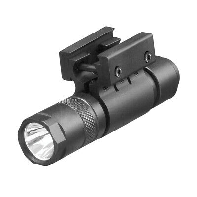 $25.99 • Buy Tactical 200 Lumen LED Flashlight With Mount, Cap Switch And Pressure Switch