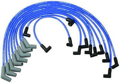$56.90 • Buy Ford Racing 9mm BLUE Ignition Wire Set 5.8L 5.0L 351W 302 New Spark Plug Wires