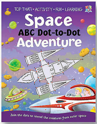 Dot To Dot Book (Space ABC) New • 4.99£