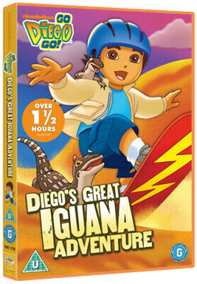 Go Diego Go!: Great Iguana Adventure DVD (2012) Chris Gifford Cert Tc • 2.99£