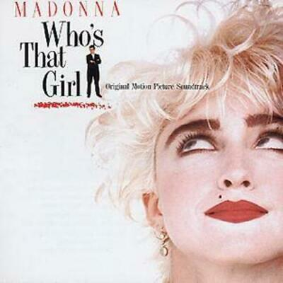 £3.48 • Buy Madonna : Who's That Girl CD (1987) Value Guaranteed From EBay's Biggest Seller!