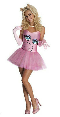 £24.49 • Buy The Muppets Secret Wishes Miss Piggy Sexy Adult Costume Dress Size XS