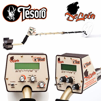 £360.60 • Buy Tesoro DeLeon Metal Detector With 9  X 8  Search Coil