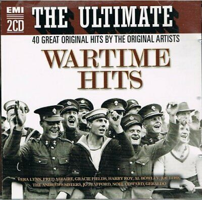 £2.33 • Buy Various Artists : THE ULTIMATE WARTIME HITS (2 C CD Expertly Refurbished Product