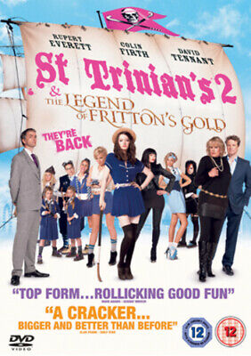 St Trinian's 2 - The Legend Of Fritton's Gold DVD (2010) Colin Firth, Parker • 2.12£