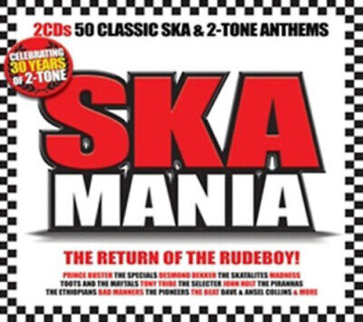 £2.64 • Buy Various Artists : Ska Mania CD 2 Discs (2009) Expertly Refurbished Product