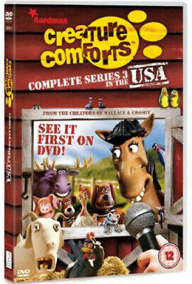£2.13 • Buy Creature Comforts: Complete Series 3 - In The USA DVD (2008) Nick Park Cert 12