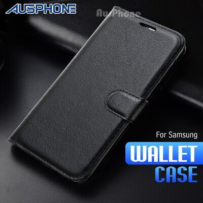 AU9.95 • Buy Wallet Leather Flip Case Cover For Samsung Galaxy J2 Pro 2018 J5 J7 Pro J8 A5 A8