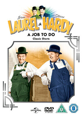 £2.14 • Buy Laurel And Hardy Classic Shorts: Volume 14 - A Job To Do DVD (2004) Stan Laurel