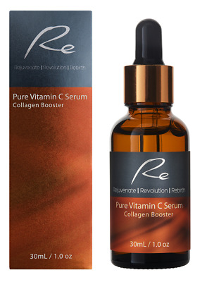 AU24.95 • Buy Pure Vitamin C Serum Collagen Booster With Hyaluronic Acid - 30ml