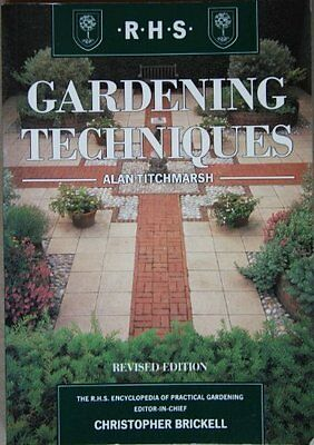 Gardening Techniques (The Royal Horticultural Society Encyclopa .9781857329766 • 2.11£