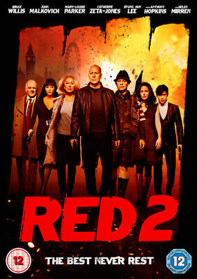 Red 2 DVD (2013) Bruce Willis, Parisot (DIR) Cert 12 FREE Shipping, Save £s • 2.10£