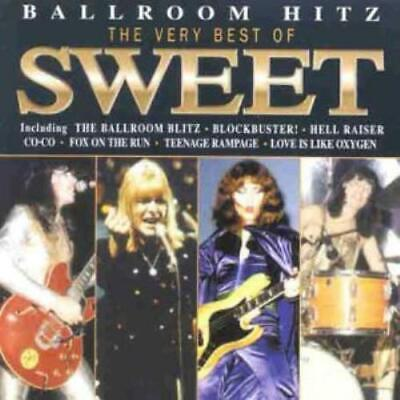 The Sweet : Ballroom Blitz-Best Of Sweet CD Incredible Value And Free Shipping! • 4.88£