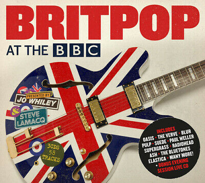 £4.78 • Buy Various Artists : Britpop At The BBC CD 3 Discs (2014) FREE Shipping, Save £s