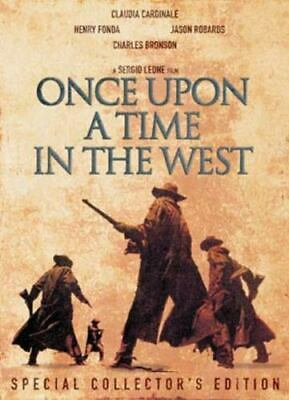 Once Upon A Time In The West DVD (2003) Charles Bronson, Leone (DIR) Cert 15 • 2.24£