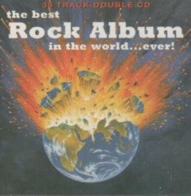 Various Artists : The Best Rock Album In The World..Ever CD Fast And FREE P & P • 2.20£