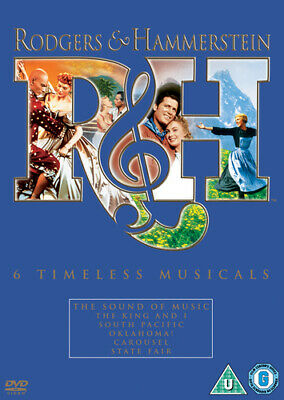 £4.01 • Buy Rodgers And Hammerstein: 6 Timeless Musicals DVD (2008) Gordon MacRae, King
