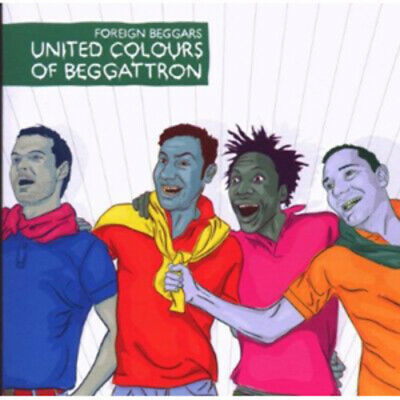 Foreign Beggars : United Colours Of Beggattron CD (2017) FREE Shipping, Save £s • 3.72£