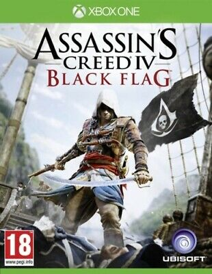 Assassin's Creed IV: Black Flag (Xbox One) PEGI 18+ Adventure: Free Roaming • 8.64£