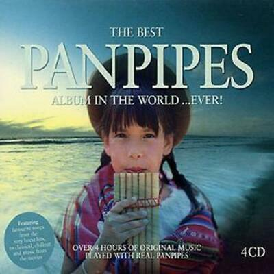 £4.10 • Buy Various Artists : The Best Pan Pipes In The World...ever! CD 4 Discs (2003)