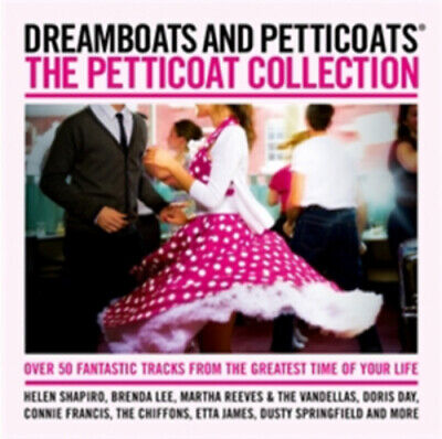 £2.76 • Buy Various Artists : Dreamboats And Petticoats: Petticoat Collection CD 2 Discs