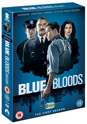 Blue Bloods: The First Season DVD (2011) Tom Selleck Cert 15 6 Discs Great Value • 7.01£