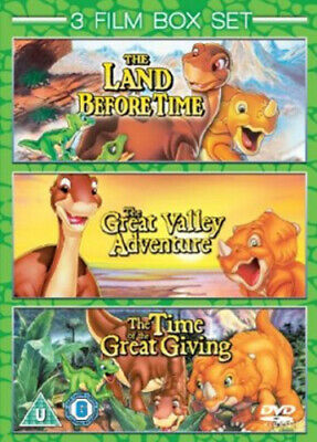 £3.97 • Buy The Land Before Time 1-3 DVD (2009) Don Bluth Cert U 3 Discs Fast And FREE P & P