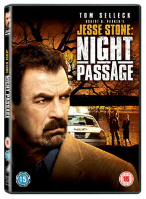 Jesse Stone: Night Passage DVD (2007) Tom Selleck, Harmon (DIR) Cert 15 • 2.74£