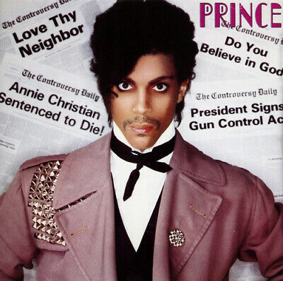 Prince : Controversy CD (1984) Value Guaranteed From EBay's Biggest Seller! • 2.41£
