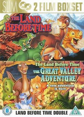 £2.64 • Buy The Land Before Time/The Land Before Time 2 DVD (2007) Don Bluth Cert U 2 Discs