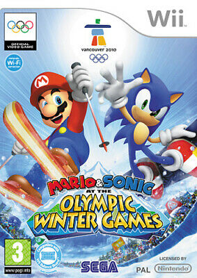 £4.08 • Buy Mario & Sonic At The Olympic Winter Games (Wii) PEGI 3+ Sport: Winter