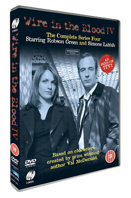£2.21 • Buy Wire In The Blood: The Complete Series 4 DVD (2016) Robson Green Cert 15 2