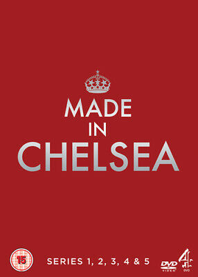 Made In Chelsea: Series 1-5 DVD (2013) Rosie Fortescue Cert 15 Amazing Value • 3.73£
