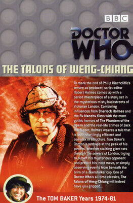 Doctor Who: The Talons Of Weng-Chiang DVD (2003) Tom Baker, Maloney (DIR) Cert • 3.98£