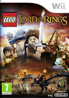 LEGO: The Lord Of The Rings (Wii) PEGI 7+ Adventure Expertly Refurbished Product • 7.98£