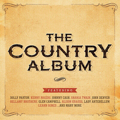 £2.67 • Buy Various Artists : The Country Album CD 2 Discs (2015) FREE Shipping, Save £s