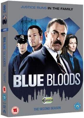 Blue Bloods: The Second Season DVD (2012) Tom Selleck Cert 15 6 Discs • 5.26£