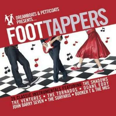 £2.58 • Buy Various Artists : Dreamboats And Petticoats Presents Foot Tappers CD (2008)