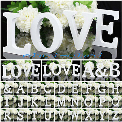 £1.99 • Buy  Wood Letter Numbers Alphabet Bridal Wedding Party Table Decoration Free Stand